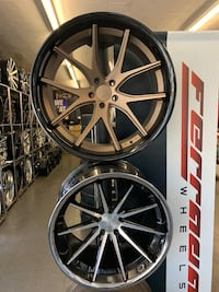 "20"" new forged ferada rims tires set Bmw Audi mustang Mercedes Porsche  Hayward, 94545"
