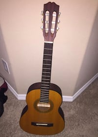 Youth brown and black classical guitar  Spring, 77380