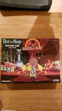 Rick And Morty Boardgame