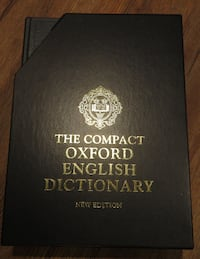 The Compact Oxford English Dictionary - New Edition