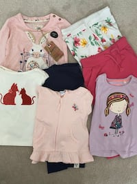 BRAND NEW: Assorted Toddler Girl Clothing - whole set or individual
