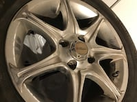 Winter and summer tires with mags included in the summer tire Montréal, H3W 3E3