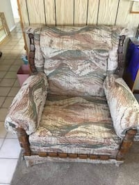 Early American sofa and chair 2 piece set