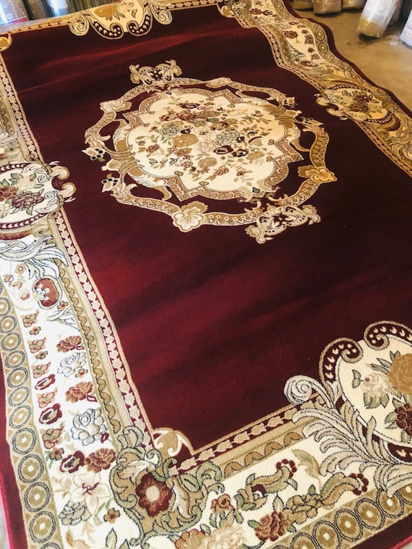 New rug size 8x11 nice red carpet Persian or Morroccan style rugs 1da0167b-75a8-4b2d-a177-96dddc5f5d17