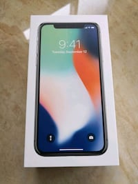 256GB iPhone X White+ 2 YEAR APPLE CARE!! Vaughan, L4H 2H1