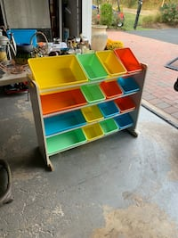 Toy kids room storage colorful- playroom boxes Flemington, 08822