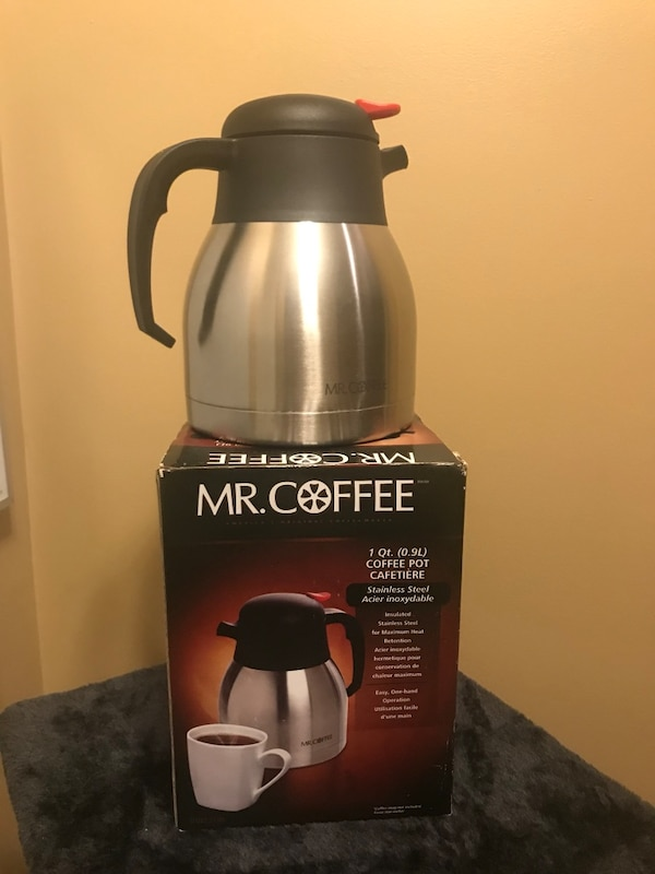 Mr Coffee Stainless Steel Pot