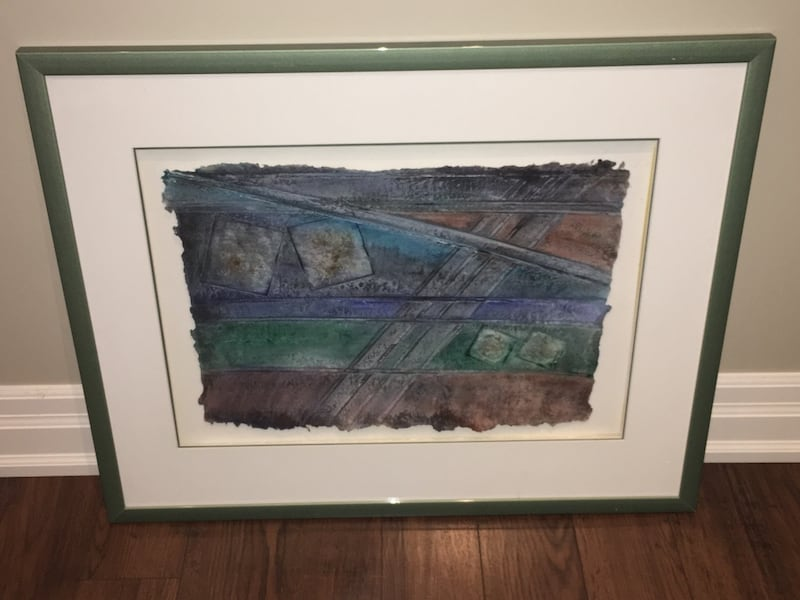 Abstract artwork poster framed 2411adf0-ede1-493a-b2b1-f163a6fd8281