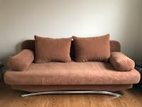 European Hardwood Double Bed Futon Oakville, L6H 2M8