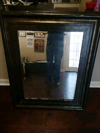 black wooden framed wall mirror Dallas, 75214