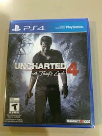 Brand new, unopened Unchartered 4 for PS4 Scarborough, M1V