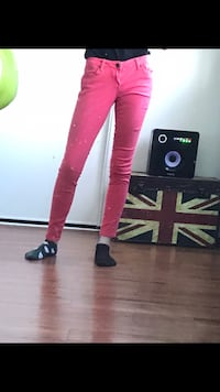 Size 26 colourful jeans Brantford, N3T 2M4