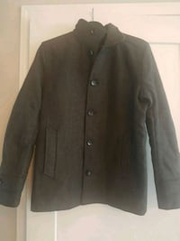 Mens Jack Jones Wool Coat Burlington
