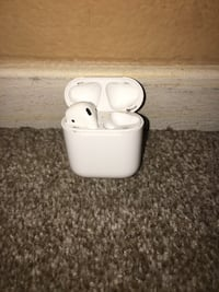 Good condition only got 1 air pod on the left ear  Bakersfield