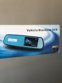 Mirror dash cam with rear camera  Toronto, M9M 2S7