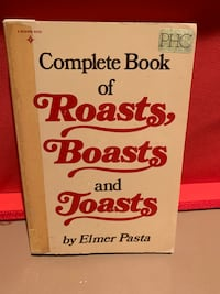 The Book of Roasts, Boasts, and Toasts Oakville, L6L 4X3