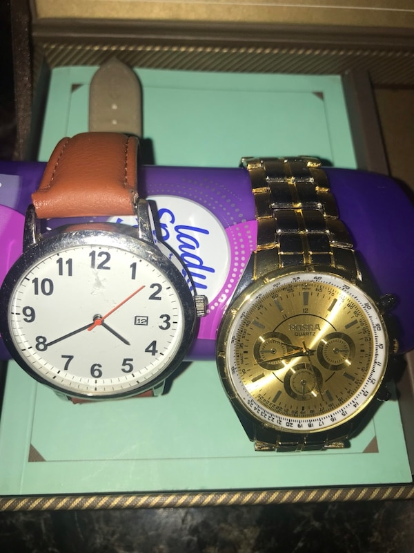 Rosra Quartz watch and leather band female watch