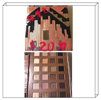 brown eyeshadow palette 哈利法克斯, B3S 1H3