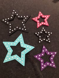 5 pc Hanging Star Collection Wildwood, 63005