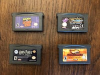 Various Gameboy Advance games Richmond Hill, L4C 7P6