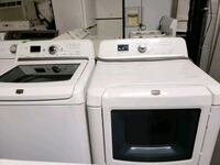 white washer and dryer set 417 mi