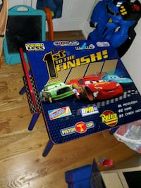 Disney cars table with 1 chair Glendale Heights, 60139