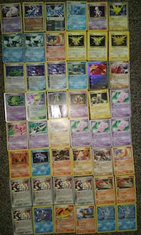 Used mew pokemon trading game card for sale in Tulsa - letgo