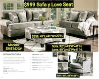 gray and white sectional couch Colton, 92324