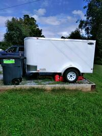white and black utility trailer Falling Waters, 25419
