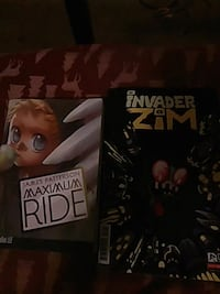 Maximum ride graphic novel plus zim the invader  Green Bay, 54302
