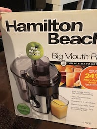 Juicer- Big Mouth Pro from Hamilton Beach  Raytown, 64138