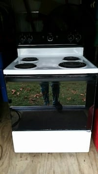 white and black coil electric range oven Jacksonville, 28540