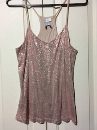 Dynamite sequin camisole