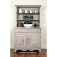 Solid maple shabby chic hutch Mississauga, L5G 2K4