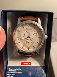 Timex watch with retail tag on/ never open/ no negotiation/no delivery Toronto, M3A 2G4