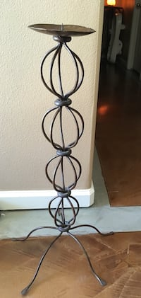 3' metal candle holder  Sparks, 89431