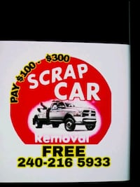 Cash for junk cars  Capitol Heights, 20743