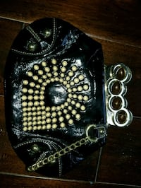 AKADEMIKS brass knuckles clutch bag Vaughan, L4L 8S9