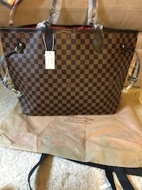 Lv neverfull purse and matching little wallet San Jose, 95111