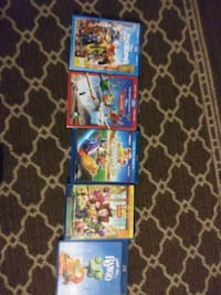 Great like new kid's blue ray movies