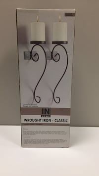 Wrought iron candle holders Pickering, L1W 3V4