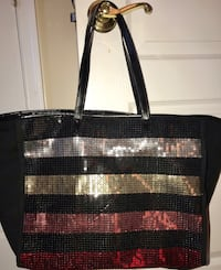 Victoria's Secret black glitter tote bag Alexandria, 22315