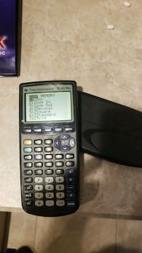 Calculator TI-83 Plus graphing scientific math Edmonton, T6W 1A2
