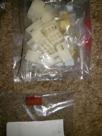 Bags of connectors ect.