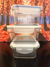 3 for $10  glass container
