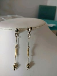 REAL SILVER EARRINGS WITH GOLD FILLED Calgary, T3G 4A6