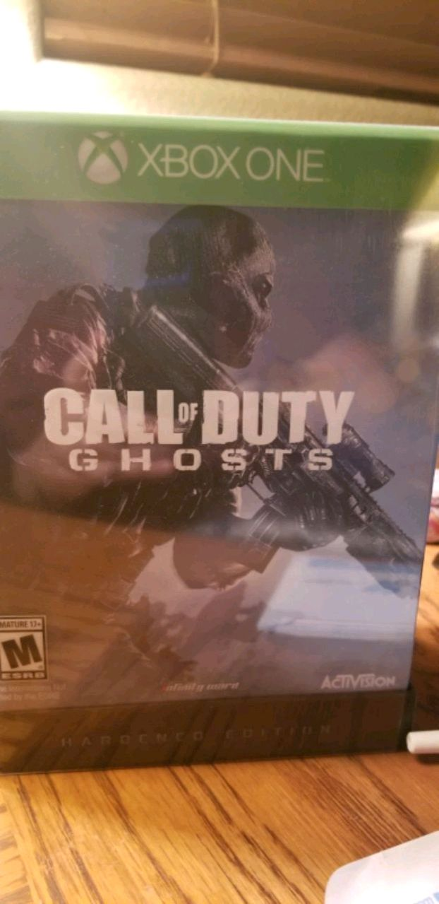 Photo XBOX ONE CALL OF DUTY GHOSTS HARDENED EDITION