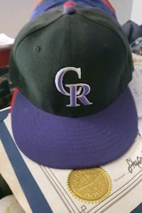 Colorado Rockies Fitted Cap
