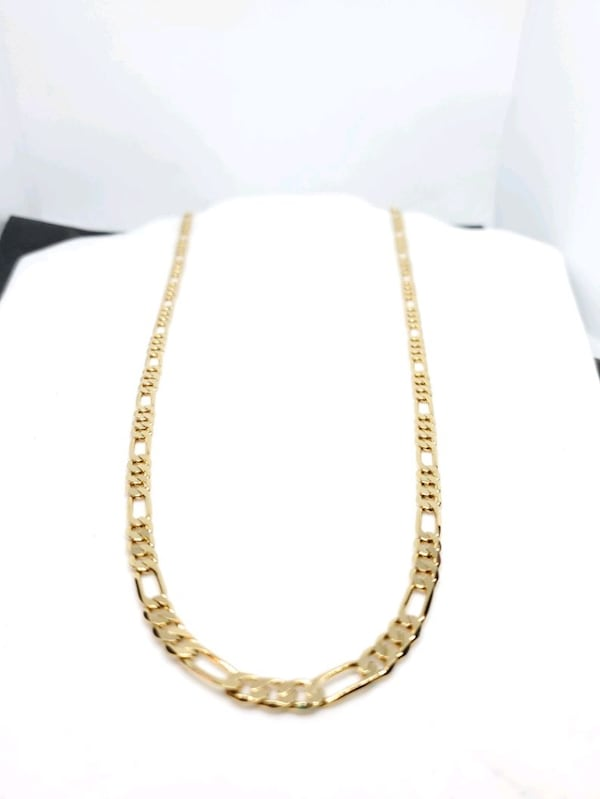 14k Gold Filled Figaro Link Chain 10c38bbe-c290-4983-b9ea-2c4bff029078