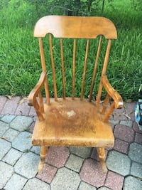 Vintage kids rocking chair